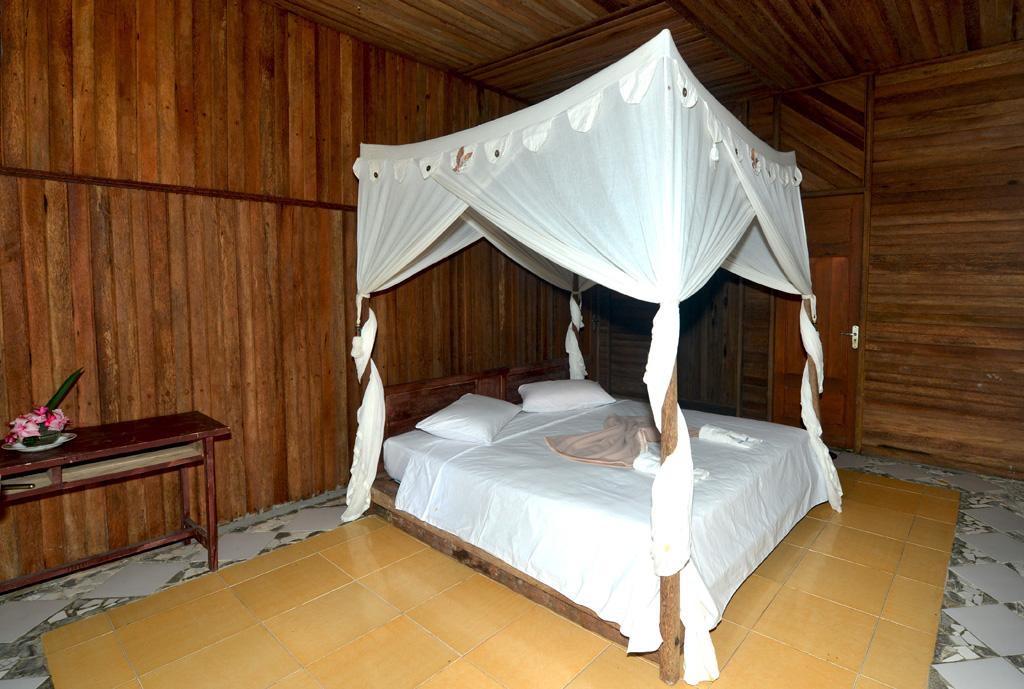 Our room at Tangkoko Dove