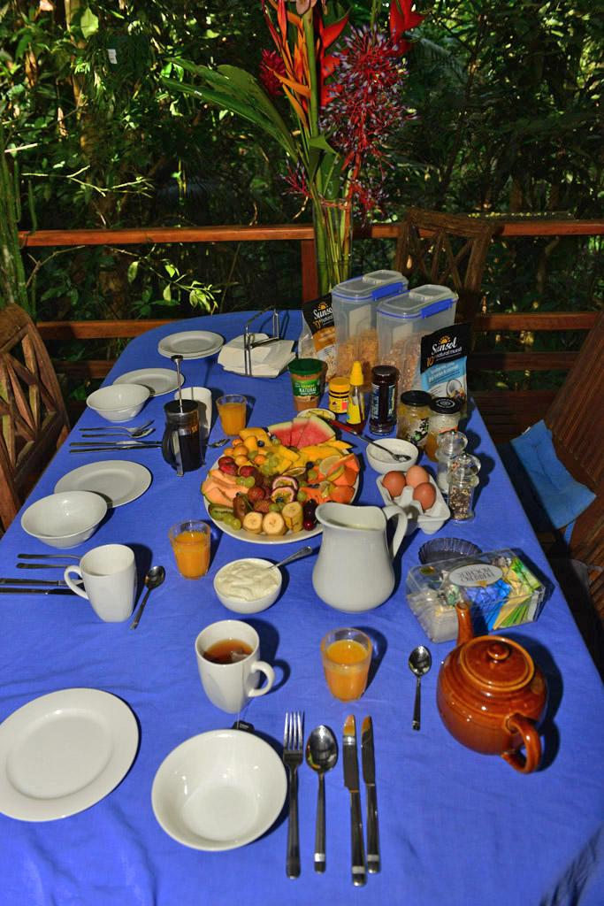 cassowary house breakfast