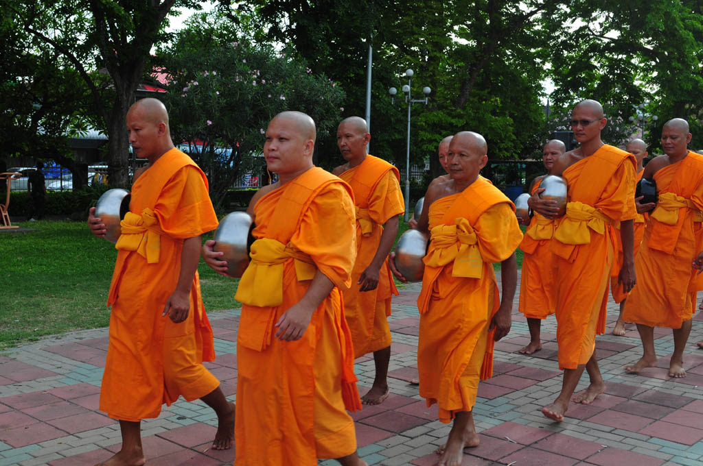 Monks in Lopburi