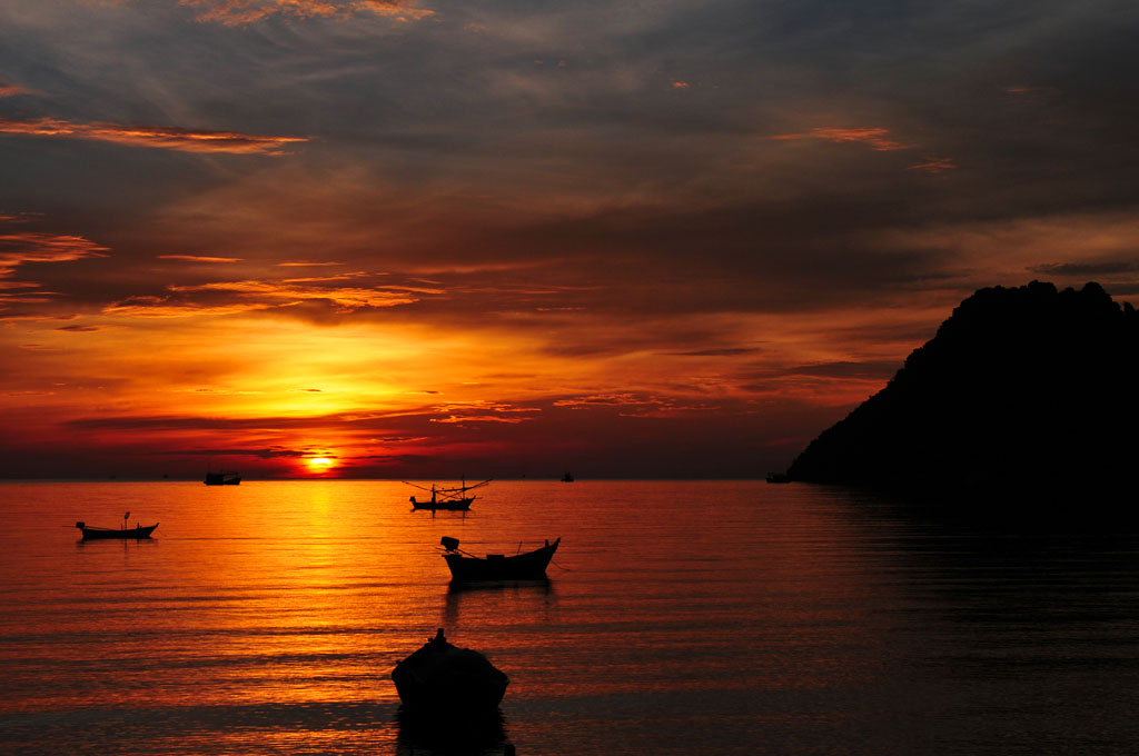 Prachuap Khiri Khan sunrise