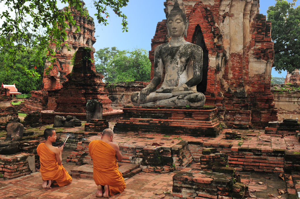 Wat Mahathat in Ayutthaya