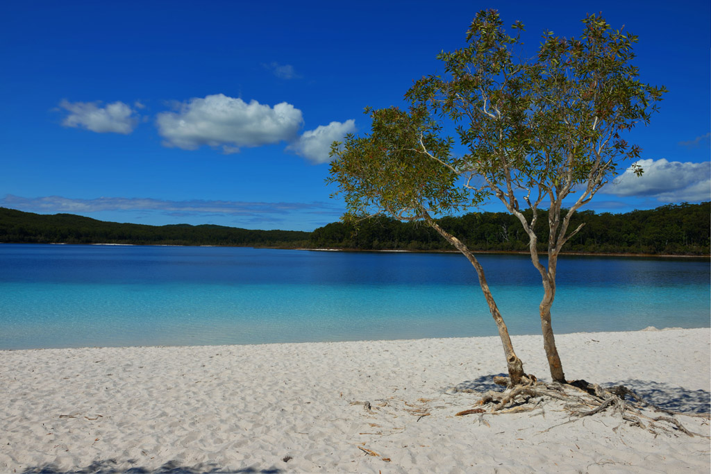 beautiful lake Mckenzie