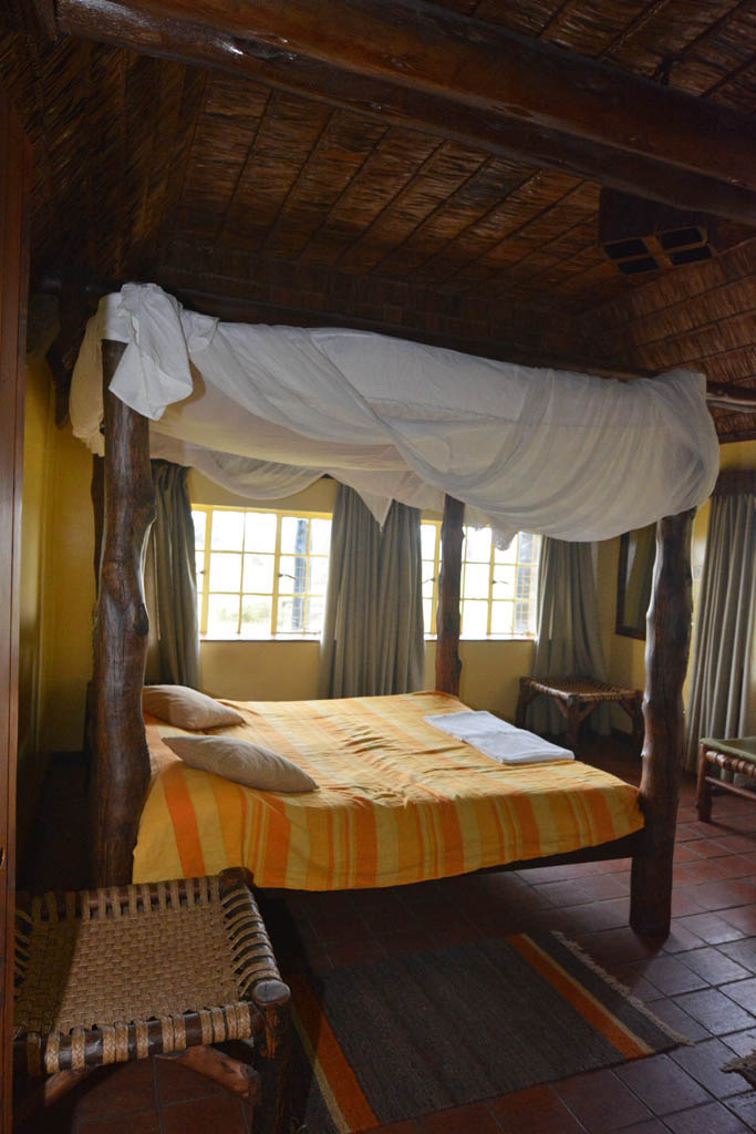 Our room at Naishi guest house at Lake Nakuru