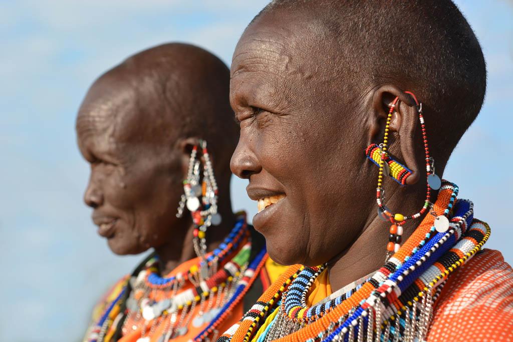masai mara ladies