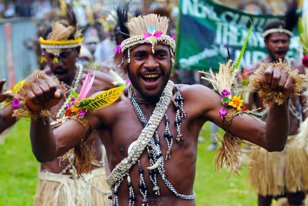 A time of celebration at Goroka festival