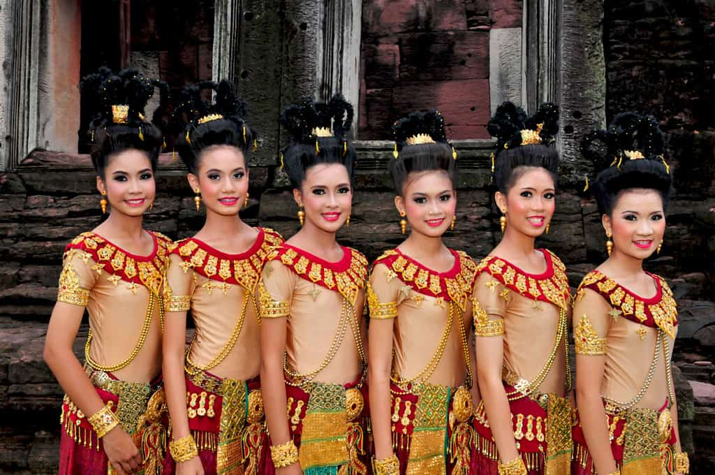 Aspara Dancers at Phimai ruins