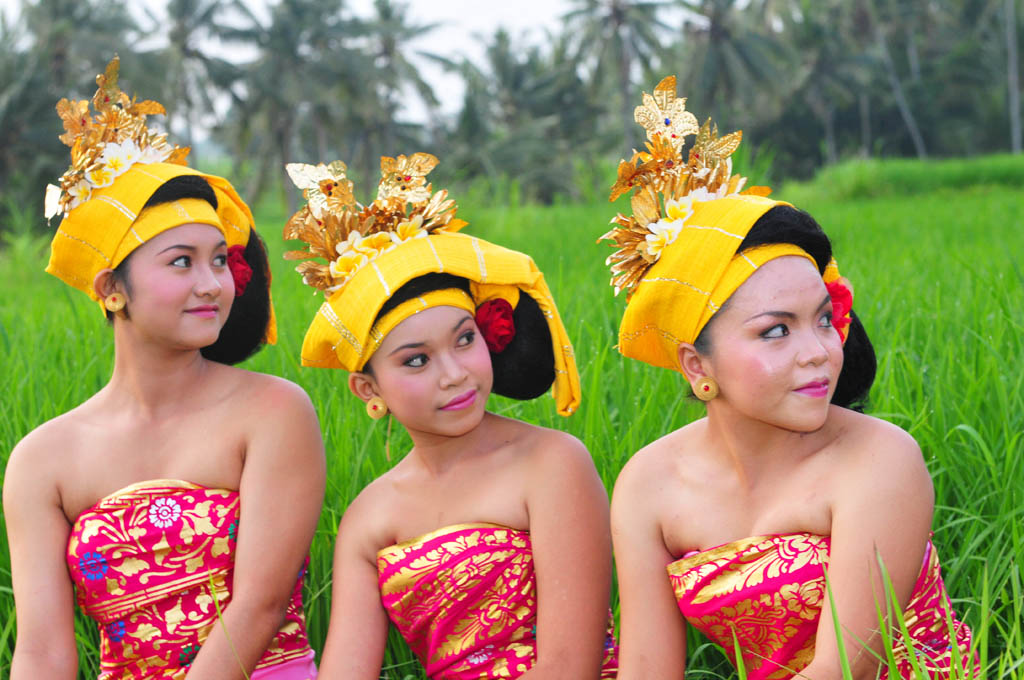 Colourful Festival in Bali