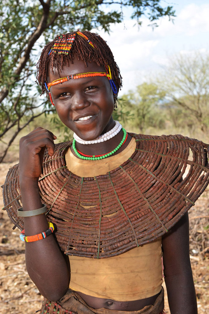 Girl from the Pokot Tribe