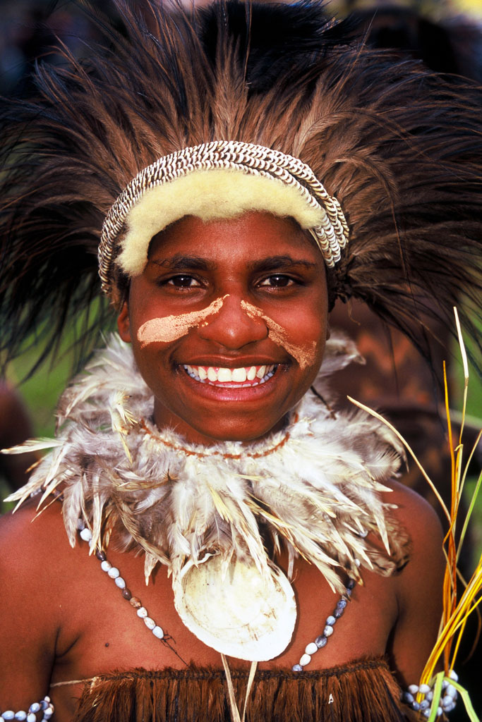 Goroka Festival is one of the biggest festivals in PNG