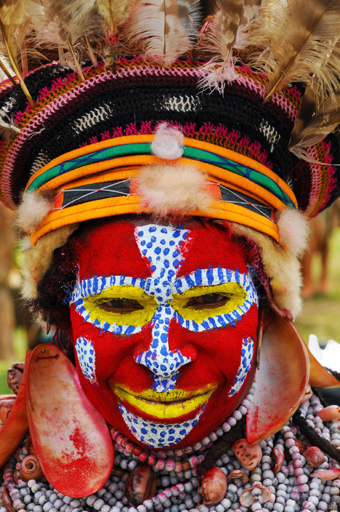 Kora West Tribe at Goroka Festival