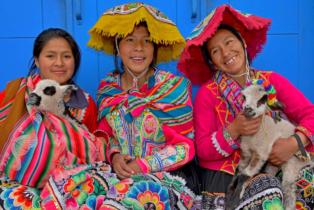 Locals in cusco