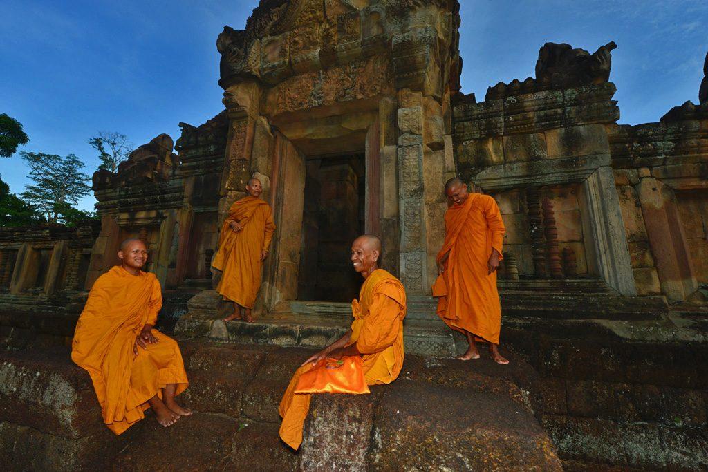 Muang Tam Khmer ruins Thailand