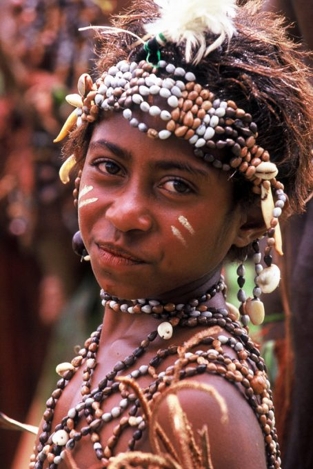 The Goroka Festival is a meeting place of all tribes in the area