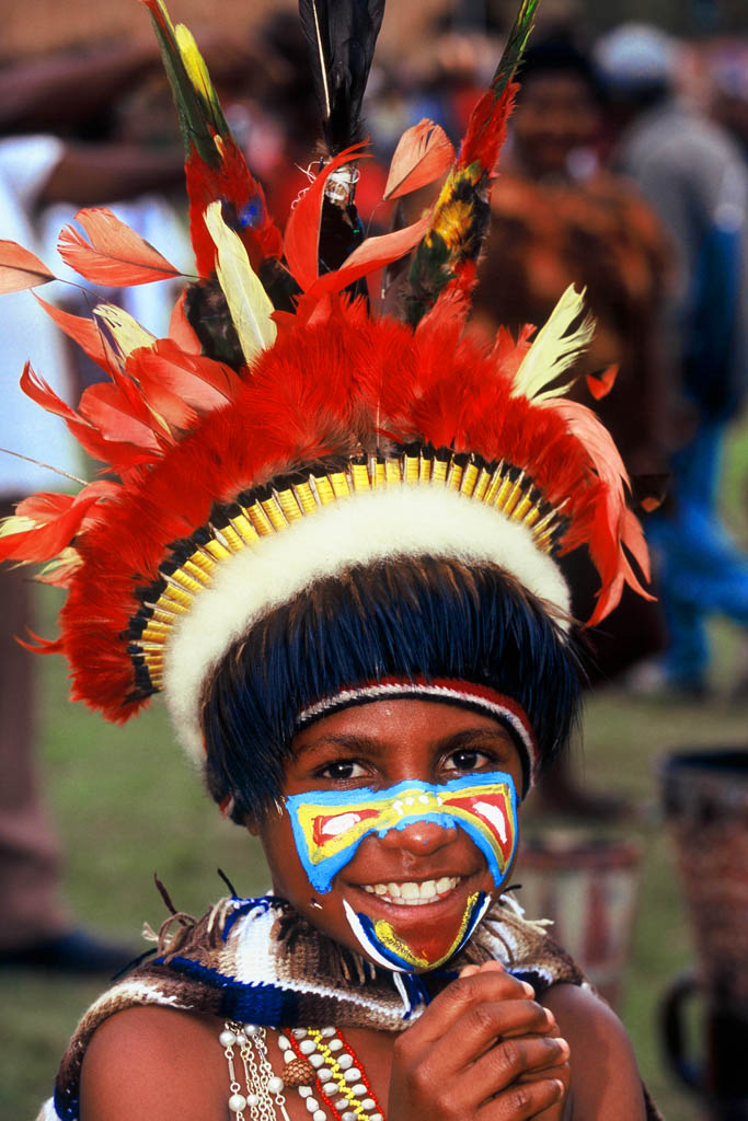 The Goroka Festival is one of the biggest festivals in PNG
