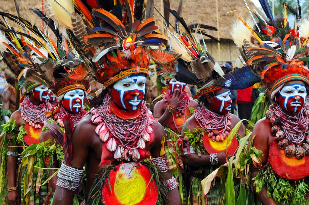 The colour and vibrancy of Goroka Festival