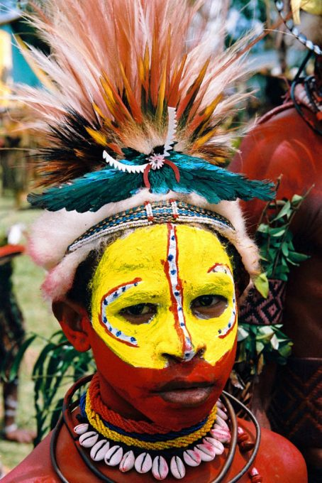 The colourful Huli Tribe