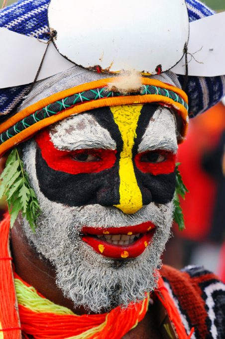 The vibrancy of Papua New Guinea