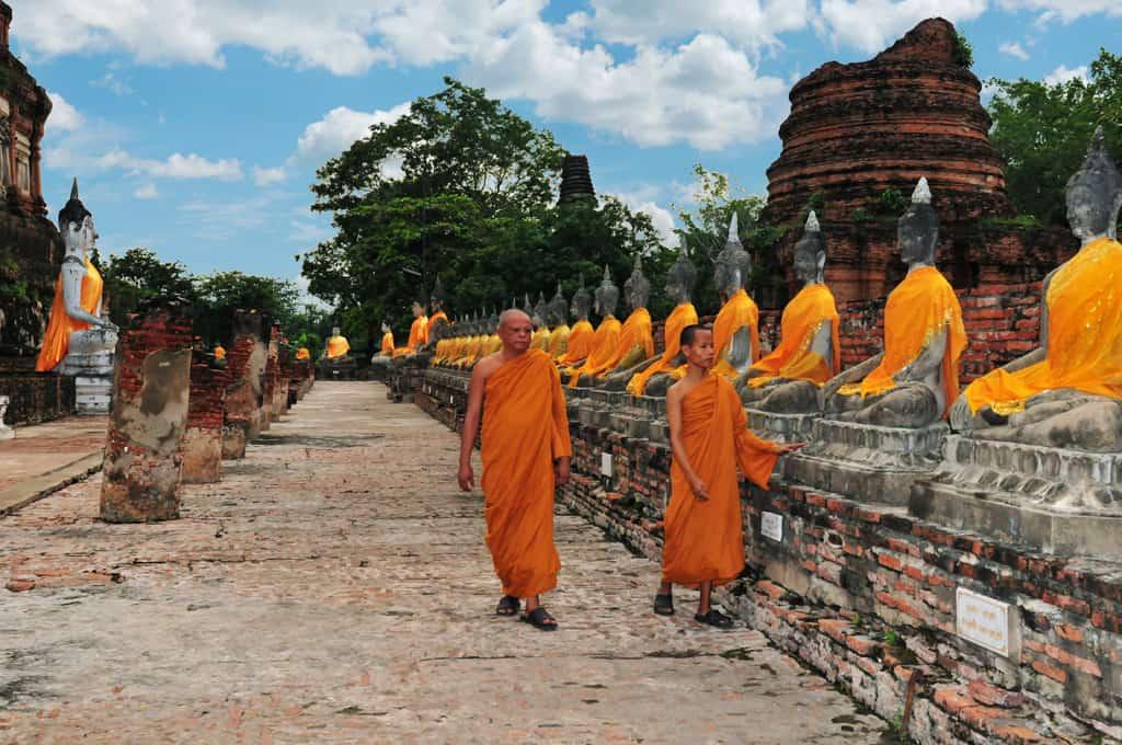 Wat Yai Chai Mang Khon Ayutthaya