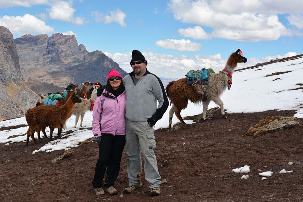 Ray and Sue at Condor Pass