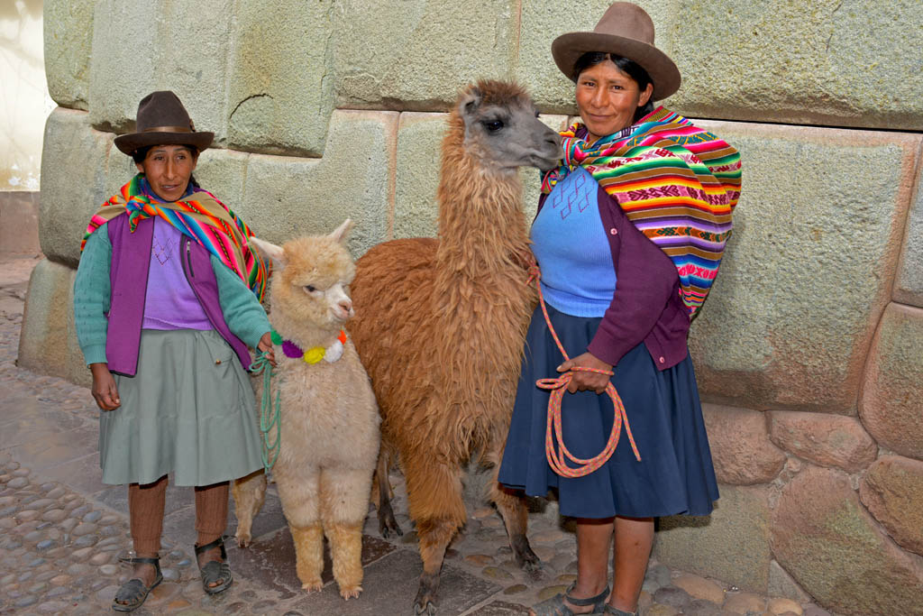 The colourful and charming streets of Cusco