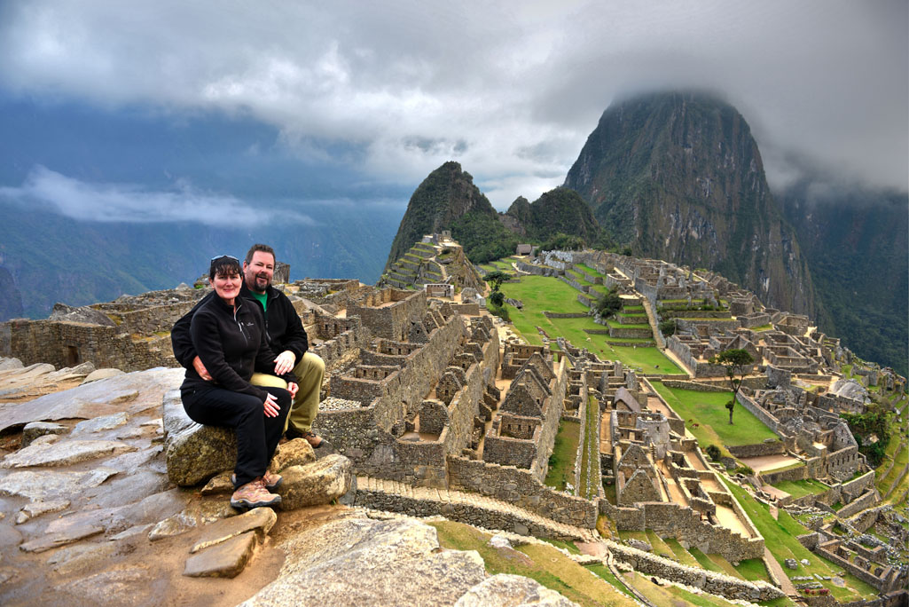 One of the best views of Machu Picchu is from the Guardhouse.