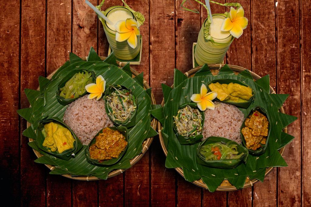 bali traditinal meal